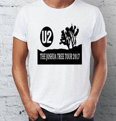 U2 - Joshua tree tour 2017 - t-shirt by iceiceTshirt on Etsy