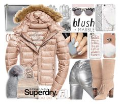 """The Cover Up – Jackets by Superdry: Contest Entry"" by yours-styling-best-friend ❤ liked on Polyvore featuring Pori, Étoile Isabel Marant, Neff, Karl Lagerfeld, Superdry, River Island, Jennifer Behr, Happy Plugs, Ivanka Trump and Silver Spoon Attire"