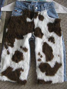 diy costume for toddler boy - cowboy