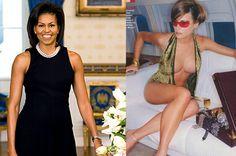 Classy vs Trump trashy.