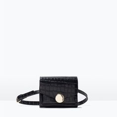 CROC-EMBOSSED LEATHER BELT BAG-Shoes & Bags-Starting from 50% off-WOMAN-SALE | ZARA United States