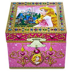 Tinkerbell Musical Jewelry Box by Disney Theme Park Merchandise