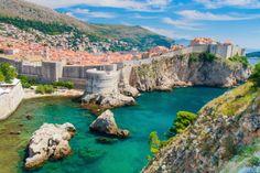 Dubrovniks stadsmur, Dubrovnik, Kroatien