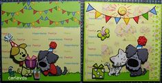 Woezel en Pip Party Themes, Comics, Birthday, Diy, Fictional Characters, Birthdays, Bricolage, Do It Yourself, Cartoons