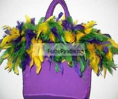 This Mixed/assorted Chandelle Feather Boa is made of sanitized natural feathers.<br /><br /> Chandelle Boa - 6 feet