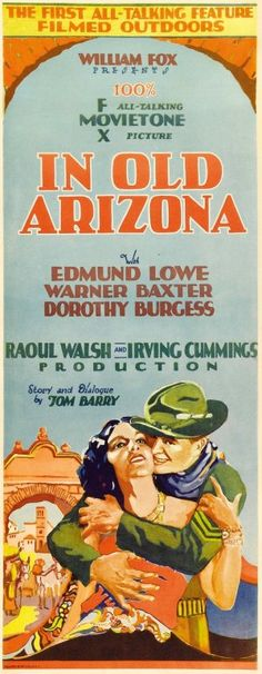 In Old Arizona Poster.