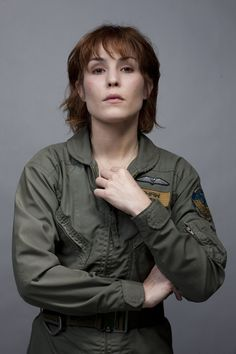 The Elizabeth Shaw, of course. Noomi Rapace herself :)