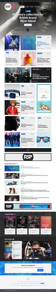 RSP Magazine site