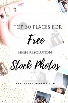 30 Places To Get Free Stock Photos For Your Blog Post. Don't beat yourself up if…