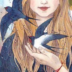 Halloween Illustration, Art Et Illustration, Illustrations, Character Illustration, Ciel Nocturne, Forest Drawing, Fantasy Forest, Anna, Pokemon Cosplay