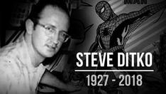 Steve Ditko Marvel Legends - Co Creator of Spider-man Dies Age 90