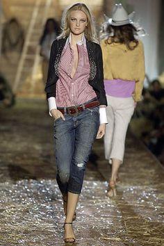 Dsquared2 Spring 2006 Ready-to-Wear Fashion Show - Caroline Trentini