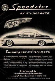 1955 Studebaker Roadster.
