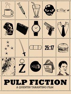 Pulp Fiction by Peter Stults - fan art