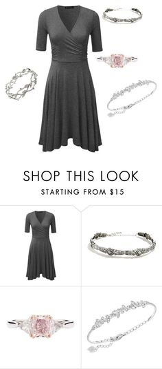 """Planning"" by cyberfire ❤ liked on Polyvore featuring LULUS, J.E. Caldwell & Co., Swarovski and Tiffany & Co."