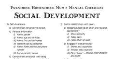 TAH | Preschool Homeschool | Social Development.pdf