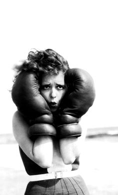 Clara Bow adds much-needed glamour to Boxing Day