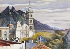 Edward Hopper: Monterrey Cathederal (1943)