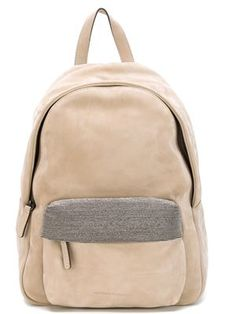 рюкзак с декоративной отделкой кармана