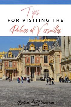 The Palace of Versailles is an easy day trip from Paris. Be sure to check out these tips before your visit to the Palace of Versailles. #travel #france #versailles #traveltips