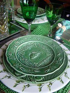 Bordallo Ceramics, great for Christmas! (via Pinterest)