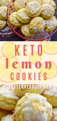 These Keto Lemon Cookies are sure to brighten your day. Just look how bright and., Desserts, These Keto Lemon Cookies are sure to brighten your day. Just look how bright and cheery they are? It's a delicious sugar-free lemon cookie that will m. Keto Cookies, Cookies Et Biscuits, Keto Biscuits, Low Carb Desserts, Low Carb Recipes, Diet Recipes, Healthy Recipes, Dessert Recipes, Mince Recipes