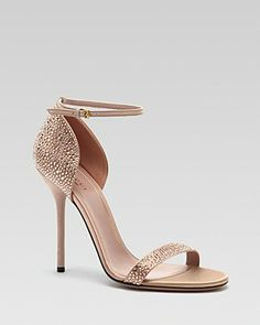 Gucci Noah Evening Sandal Bloomingdales Rose Gold Wedding Shoes Yes Please