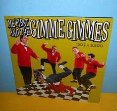 ME FIRST and The GIMME GIMMES take a break Lp Record SEALED , vinyl , #punk