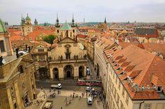 Prague : View from Charles bridge gothic tower - 3/4 | Flickr: Intercambio de fotos