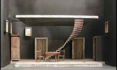 Boris Vian's Les Bâtisseurs d'Empire, directed by Jean Négroni, set by André Acquart, 1960 - Theatre
