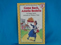 vintage 1995 Come Back, Amelia Dedelia book by Peggy Parish An I Can Read Book Level 2 by TheVintageKeepers on Etsy