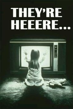 Poltergeist I used to watch this over and over...hmmm don't know why my parents let me!