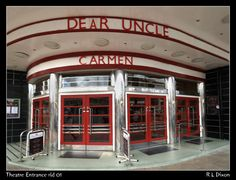 Entrance, Stephen Joseph Theatre, Scarborough, Yorkshire, England