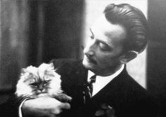 salvador dalí ... many creative-types have an affinity with cats via www.heidigarrett.com