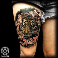 Coen Mitchell Tattoo Gold Auckland, New Zealand