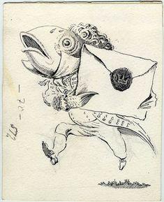Resultado de imagen de fish foot man alice