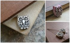 Wise Owl Beads by Di