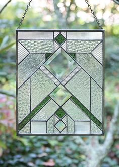 Stained Glass Panel by Karen Reed