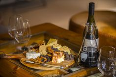 Why not make a tasty cheese platter to go with your wine from Yangarra Estate!