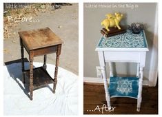 flea market flip ideas before and after - Google Search