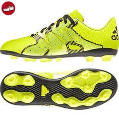 adidas Unisex-Kinder Ace 16.4 Fxg Fußballschuhe, Schwarz (Core Black/Core Black/Solar Yellow), 36 2/3 EU