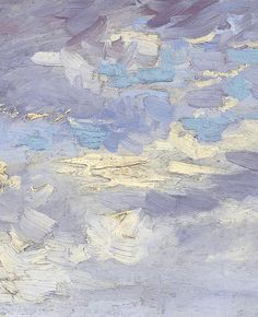 Vincent Van Gogh, detail of View of Paris