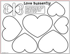 Love Butterfly Craft