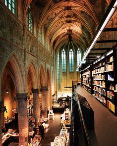 #church #books #library #bookshop