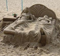Sculture e castelli di sabbia più belli della rete - GIZZETA