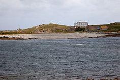 Île Lihou (vue de Guernesey)