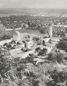 Αγία Τριάδα Ακρωτηρίου 1960 Old Pictures, Old Photos, Vintage Photos, Old Maps, Greece, The Past, Memories, Outdoor, Crete