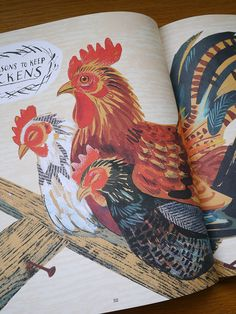 From 'A First Book of Nature' by Nicola Davies and Mark Hearld http://www.stjudesprints.co.uk/collections/mark-hearld/products/a-first-book-of-nature