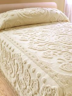 Floral Chenille Bedspread | Vermont Country Store