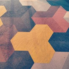 bfuss: #texture #tessellation #pattern #carpet #hexagon...